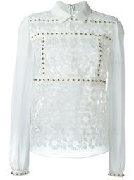 декорированная блузка  Giamba