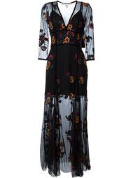 кружевное платье c V-образным вырезом  For Love And Lemons