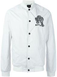 куртка-бомбер с заплаткой на спине Maharishi