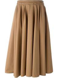 раслешенная юбка  Agnona