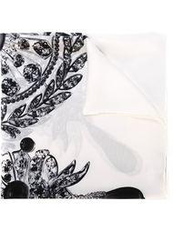 шарф с принтом украшений Givenchy