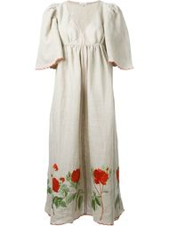 rose embroidery dress Natasha Zinko