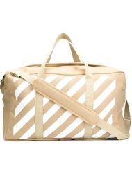 сумка-тоут в полоску Off-White