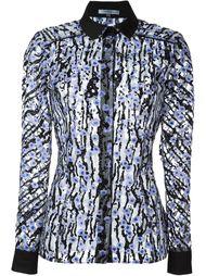декорированная  рубашка  Carven