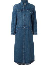 джинсовое пальто Helmut Lang