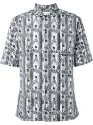 printed shortsleeved shirt Lemaire