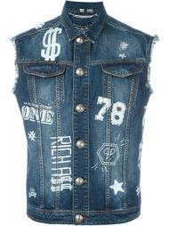 джинсовый жилет 'Hooligan'  Philipp Plein