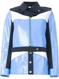 куртка дизайна колор-блок Courrèges