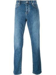 зауженные джинсы  Burberry Brit