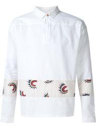 рубашка с вышивкой Visvim