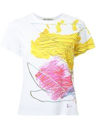 футболка с абстрактным принтом   Taro Horiuchi