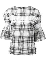 блузка в клетку  Taro Horiuchi