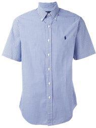 рубашка в клетку с короткими рукавами Ralph Lauren
