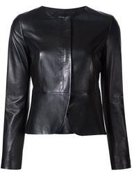 приталенная куртка без воротника Derek Lam