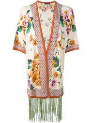 кардиган-кимоно с цветочным принтом Twin-Set