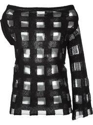 блузка с вырезами  Aviù