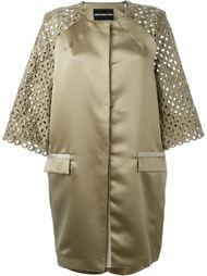 пальто с кружевными рукавами  Marco Bologna