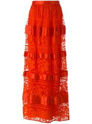 river lace long skirt Temperley London