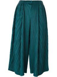 укороченные широкие брюки Pleats Please By Issey Miyake