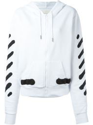 zipped hoodie Off-White