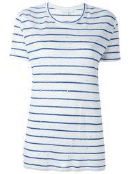 striped distressed T-shirt Iro