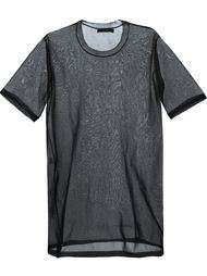 sheer T-shirt dress Calvin Klein Collection