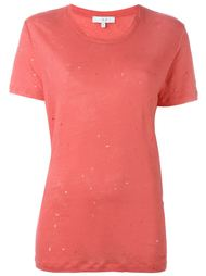 distressed T-shirt Iro