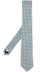 галстук с мелким узором Burberry London