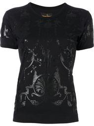 футболка с орнаментом Vivienne Westwood Anglomania
