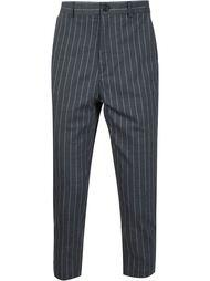 укороченные брюки в тонкую полоску Y / Project