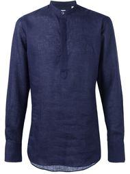 приталенная рубашка с воротником на пцуговице E. Tautz