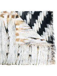 шарф 'Basket Weave' Figue