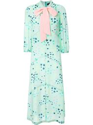 платье с принтом звезд Rossella Jardini