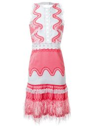 платье с растворимой пряжей Jonathan Simkhai