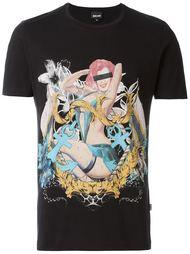 pinup print T-shirt Just Cavalli