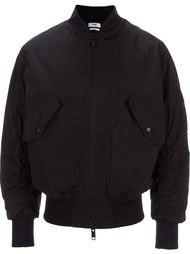zipped sleeves bomber jacket Cmmn Swdn