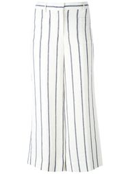 striped wide-leg pants Theory