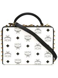 сумка-футляр с заклепками MCM