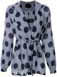 блузка с узором в горох Mother Of Pearl