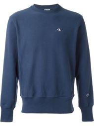 plain logo crewneck sweatshirt Champion