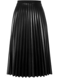 pleated mid-length skirt Aviù