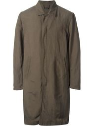 front zip mid-length military coat Monkey Time