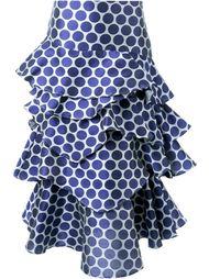 многослойная юбка в горох Awake