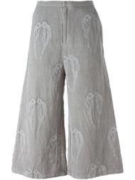 брюки с вышивкой Alice Waese