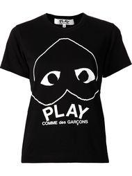 футболка 'Play' с принтом сердца Comme Des Garçons Play