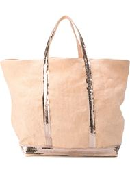 сумка-тоут с отделкой из пайеток Vanessa Bruno