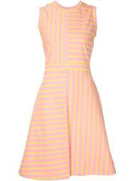 полосатое платье с панельным дизайном Jil Sander