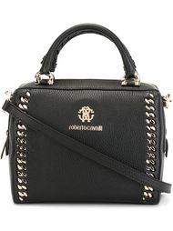 сумка на плечо с тисненым логотипом  Roberto Cavalli