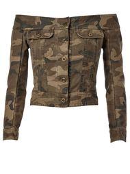 джинсовая куртка с открытыми плечами Faith Connexion