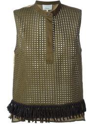 перфорированная блузка без рукавов  3.1 Phillip Lim